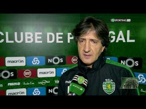 Flash de Leão - Sporting CP 2 X 1 Feirense - 08 de janeiro de 2017