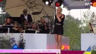 Sanna Nielsen-Rainbow LIVE.Kronprinsessan Victorias födelsedag.