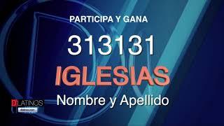 ¿Quiére ir al concierto de Julio Iglesias? Participa ahora!