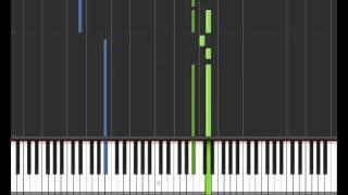 La Terre est ronde - Orelsan (Synthesia) - Tuto Piano