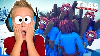 TABS has gone CRAZY!!! (Totally Accurate Battle Simulator) KIDCITY GAMING