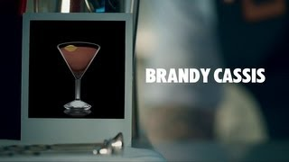 BRANDY CASSIS DRINK RECIPE - HOW TO MIX