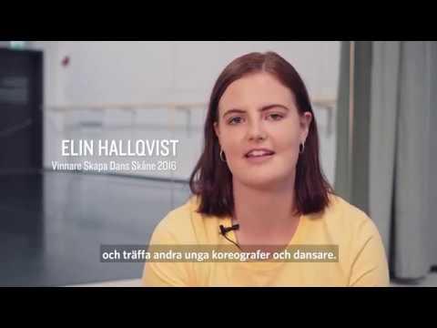 Skapa Dans Skåne, en koreografitävling för unga