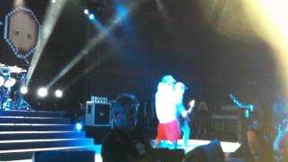 Limp Bizkit - Pollution live @ The River Stage Brisbane 25/10/2013