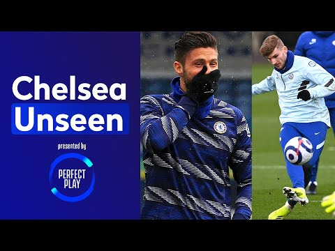 Giroud Suffers Press-Up Forfeit 🤣 Werner at his clinical best   Chelsea Unseen