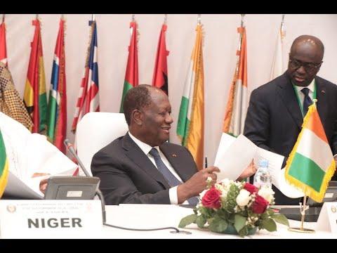 Le Chef de l'Etat a pris part au Sommet extraordinaire de la CEDEAO, à Lomé