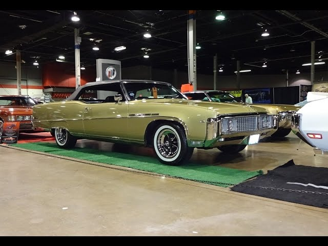 1969 Buick Electra 225 Convertible in Gold Paint & Engine Sound on My Car Story with Lou Costabile
