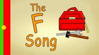 "Letter ""F"" Song - Learning portuguese for children - Alphabet Music"