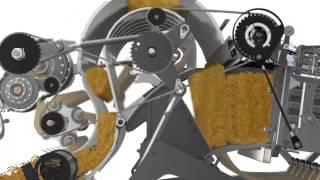 CICORIA NUOVE BIG BALER HD animazione 3D/ NEW CICORIA BIG BALERS HD 3D animation