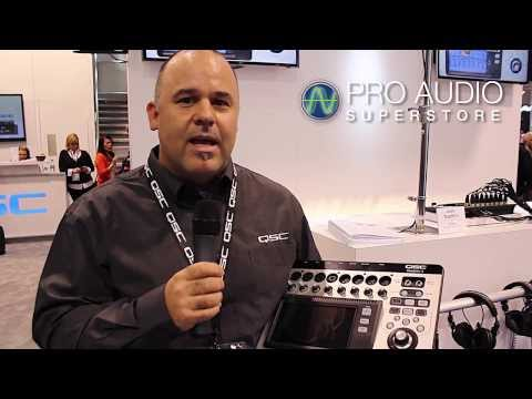QSC TouchMix Digital Mixers NAMM 2014