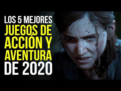 Los 5 MEJORES juegos de ACCIÓN Y AVENTURA de 2020