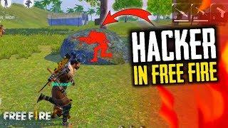 I Meet Car Hacker In Free Fire, Wall Hack - Garena Free Fire