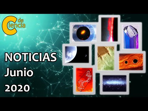 Noticias científicas junio 2020