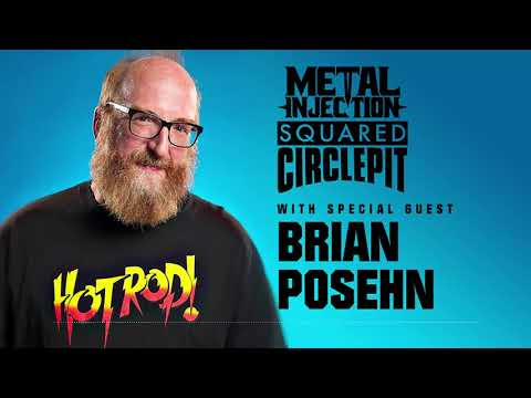 Brian Posehn Talks Love of Pro Wrestling | Metal Injection Squared Circle Pit