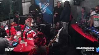 """Black M - """"Je suis chez moi"""" avec Amadou & Mariam, Zaho & Abou Debeing en live de Planète Rap"""