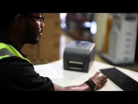 Brother TD4650TNWB etikettskriver med Bluetooth, Wi-Fi og kablet nettverkstilkobling