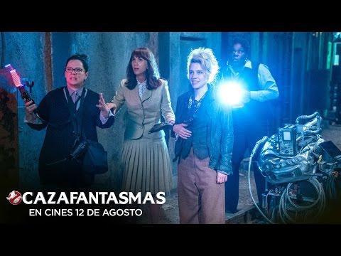 """CAZAFANTASMAS. El """"tritura fantasmas"""". En cines 12 de agosto."""