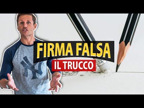 Il TRUCCO della FIRMA FALSA | Avv. Angelo Greco