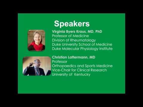 Advancing Osteoarthritis Treatment Webinar