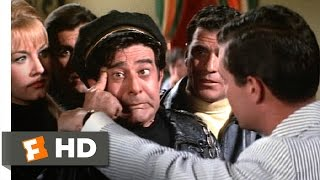 How to Stuff a Wild Bikini (4/9) Movie CLIP - Gave Himself the Finger (1965) HD