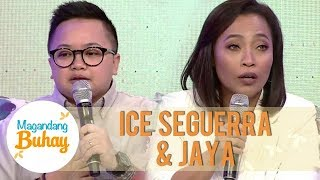Jaya and Ice's thoughts on having a blended family | Magandang Buhay
