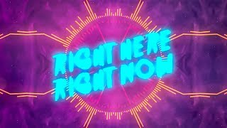San Holo - Right Here, Right Now (ft. Taska Black) [Lyric Video]
