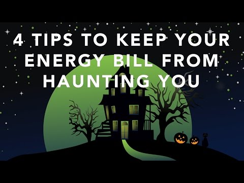 4 Tips to Keep Your Energy Bill from Haunting You (U.S. Department of Energy)