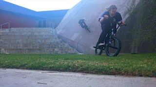 BMX RIDING ON FUN SPOTS!