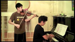 Samidare (Early Summer Rain) - Naruto Shippuden - Violin, piano duet