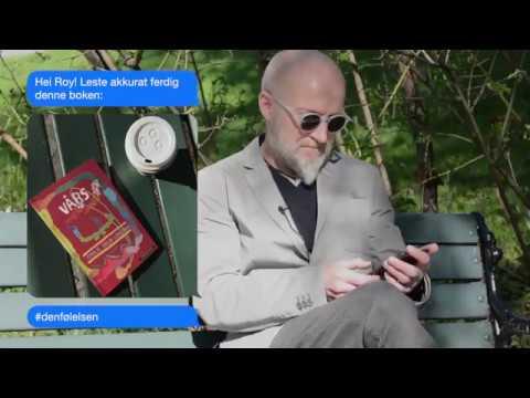 Lars Saabye Christensen sender sms til Roy Jacobsen #denfølelsen