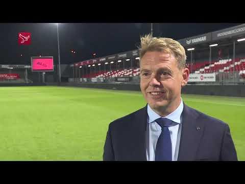 Ole Tobiasen blikt terug op Almere City FC - Helmond Sport.
