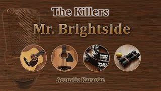 Mr brightside - The Killers (Karaoke Acoustic)