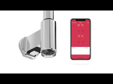 """Instruktion till parkoppling mellan Pax Calima och handdukstork via vår app """"Pax Wireless"""""""
