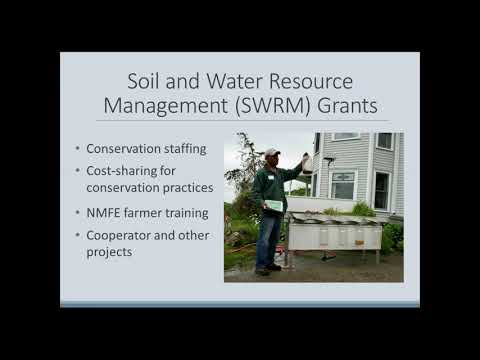 Soil and Water Resource Management (SWRM) Grants Training Webinar