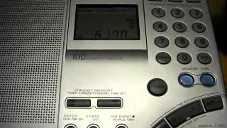 Radio New Zealand International 6170 kHz . 25.9.2010
