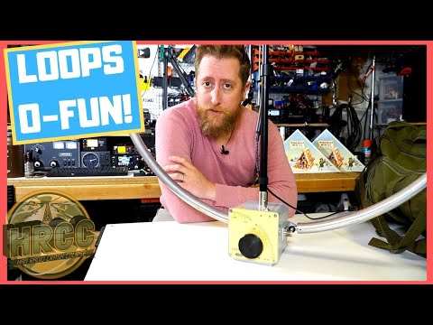 Chameleon F-Loop TOTAL! Kit and CHA Single Loop - Ham Radio Antenna Review