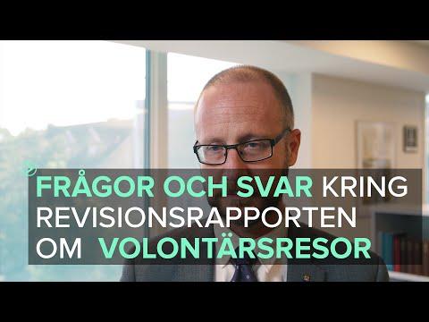 Kommunchef Magnus Gyllestad om revisionsrapporten som gäller volontärsresa HD