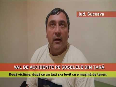 Val de accidente pe şoselele din ţară