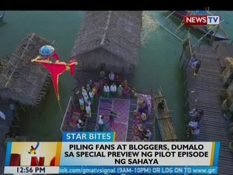 BT: Piling fans at bloggers, dumalo sa special preview ng pilot episode ng 'Sahaya'