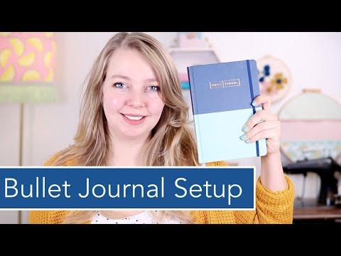 Bullet Journal Setup 2020 & BuJo mit Baby