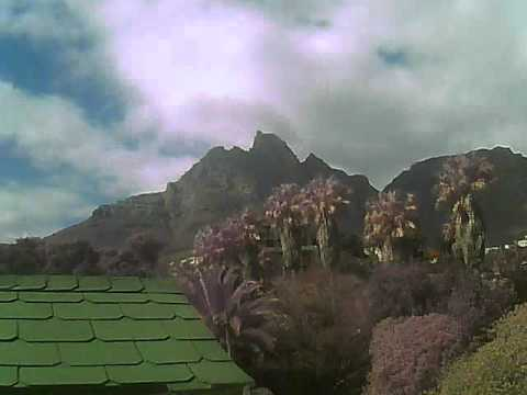 Timelapse Video – Table Mountain – 15/08/2010