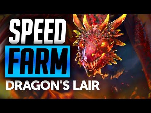 4 WAYS TO SPEED FARM DRAGON 20-25!   Raid: Shadow Legends