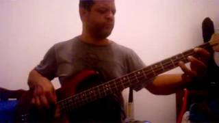 The Romantics - Talking in Your Sleep - cover bass (vandvand)