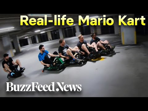 "This Is ""Real-Life Mario Kart"""