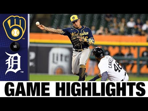 Brewers vs. Tigers Game Highlights (9/14/21) | MLB Highlights