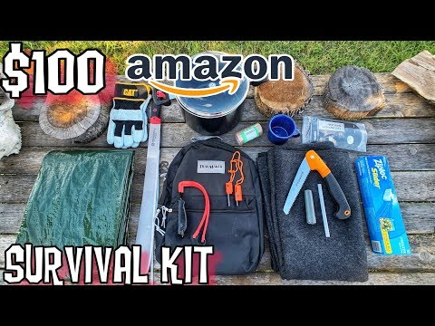 $100 Amazon Survival Kit - 7 Day Survival Challenge