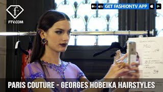 Paris Couture Fall/Winter 2017-18 - Georges Hobeika Hairstyles | FashionTV