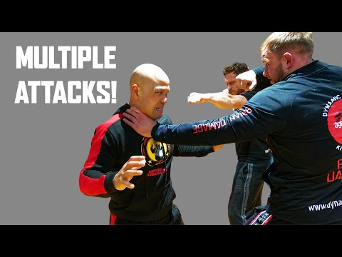 How Wing Chun deal with multiple attacks | Wing Chun Master Wong