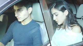 Sara Ali Khan & Ibrahim Khan attend papa Saif's 47th birthday bash