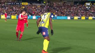Usain Bolt highlights from his Central Coast Mariners debut